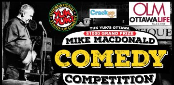 2020 Mike MacDonald Summer Comedy Competition logo