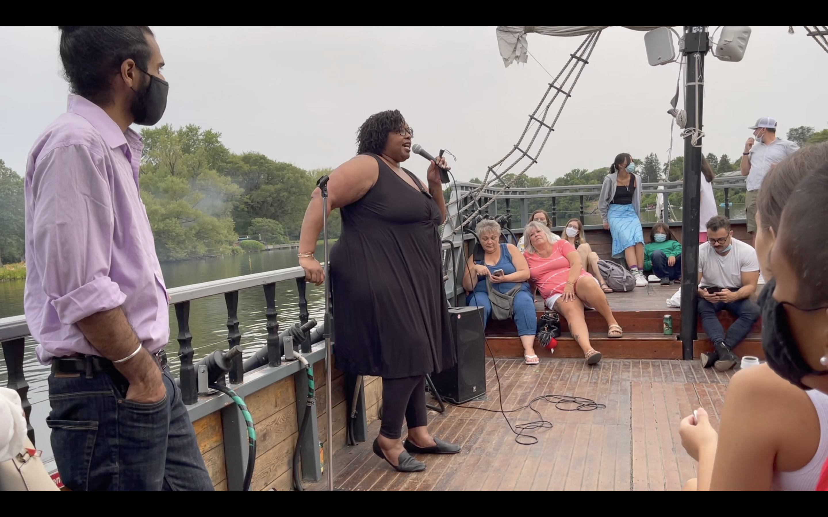Laughs Ahoy! The Pirate Ship Comedy Hour - July 17, 2021